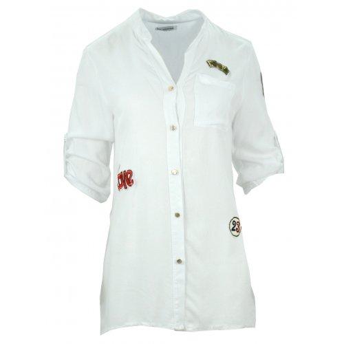 Militarna koszula/tunika (biała)