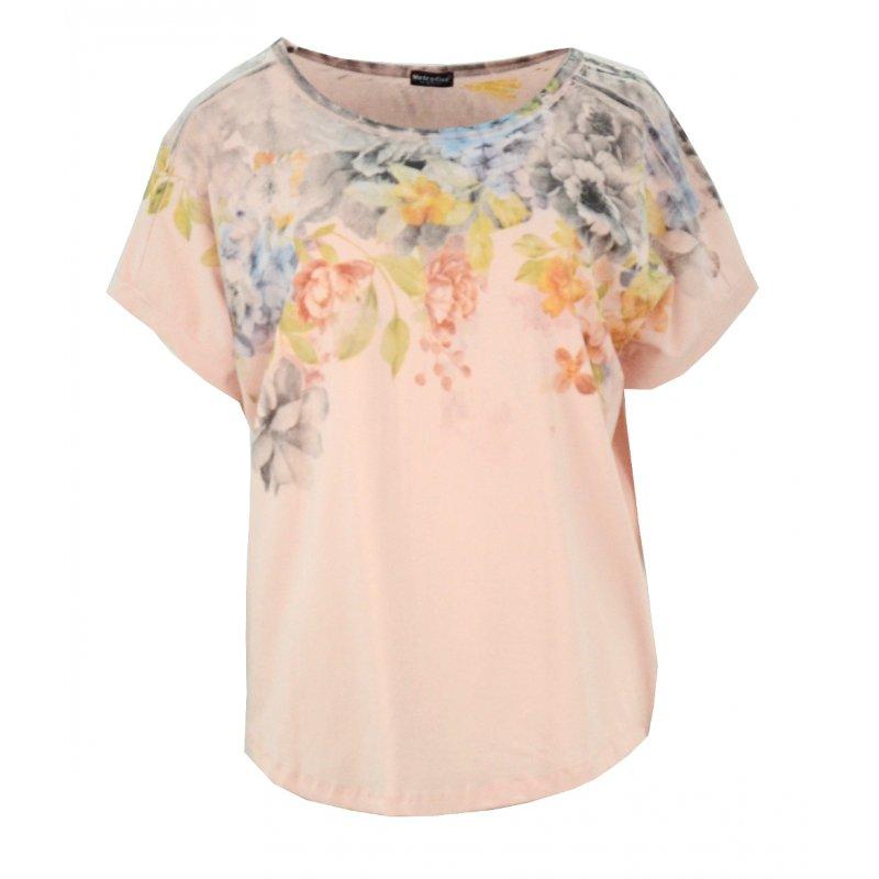 Bluzka oversize w kwiaty