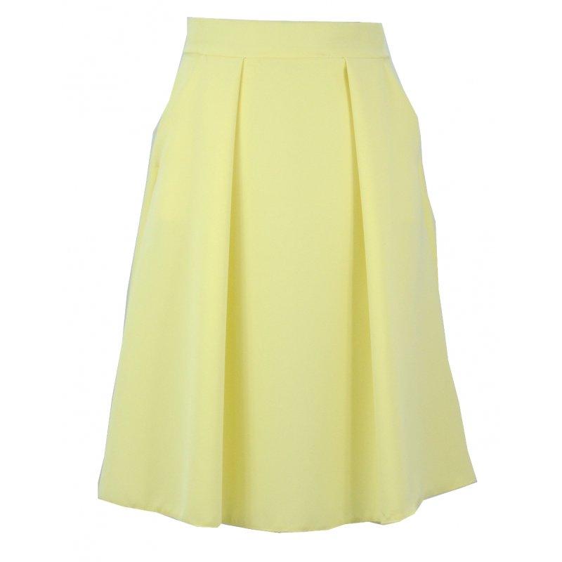 Spódnica z kieszeniami (żółta)