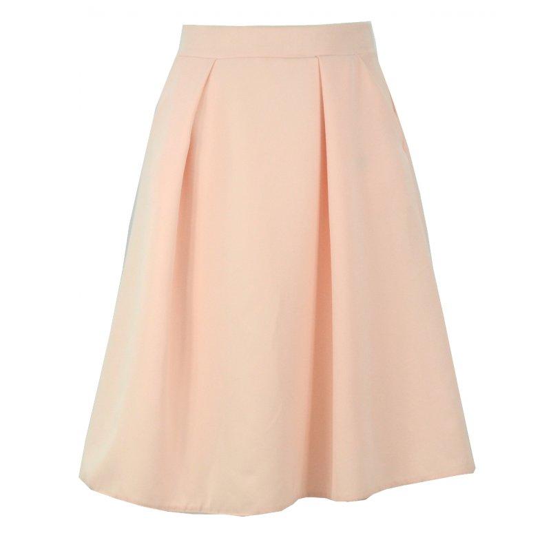 Spódnica z kieszeniami (różowa)
