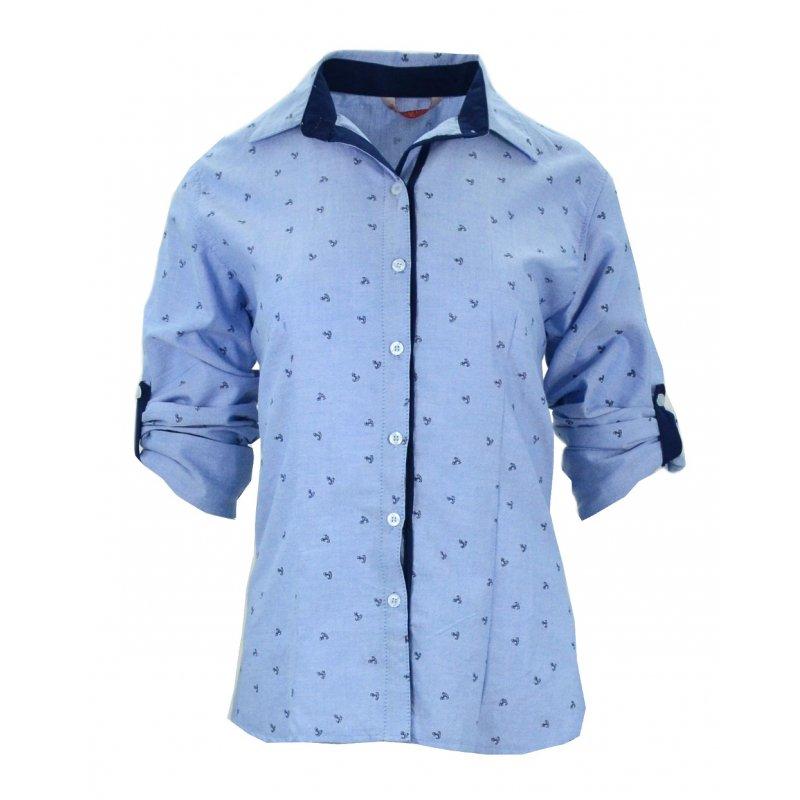 Koszula w kotwice
