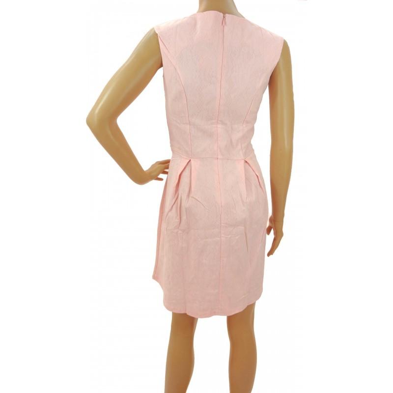 Sukienka z zamkami (różowa)
