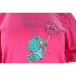 Koszula nocna z dmuchawcami (różowa)