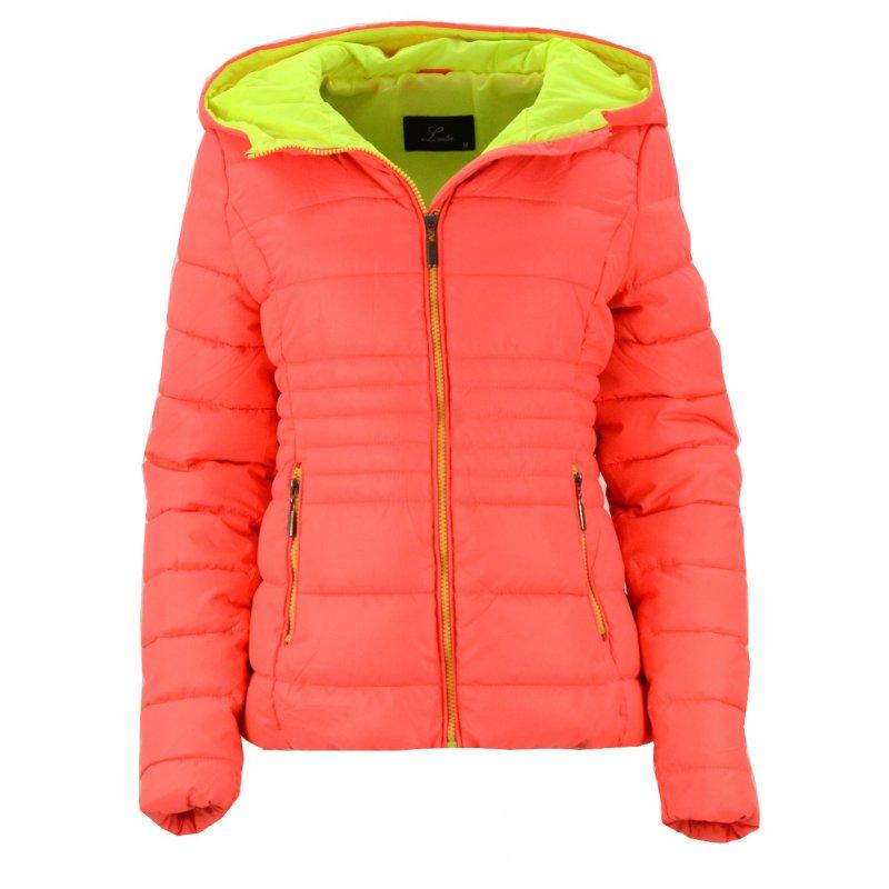 3c934c7542107 Kurtka z kapturem (neonowy pomarańcz)   eStilex.pl   Modna i tania odzież  damska online, pościel 3D, narzuty