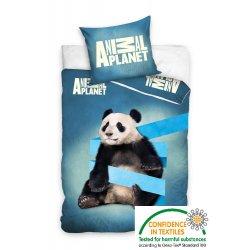 Pościel ze zwierzętami licencyjna 160x200 Panda ANIMAL PLANET AP5003 z motywem zwierząt