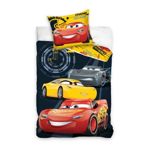 Pościel licencyjna dla dzieci 160x200 Auta Zygzak McQueen CARS3171002