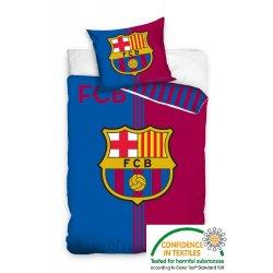 Pościel licencyjna 140x200 FC BARCELONA FCB8015-P Pościel dla fanów klubu FCB