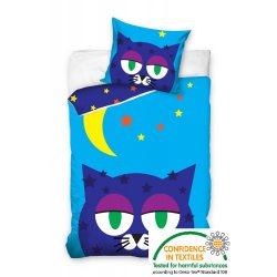 Pościel dla dzieci 160x200 Kot KOTEK01 pościel dziecięca