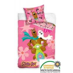 Pościel licencyjna dla dzieci 160x200 Scooby Doo SD8016 Pościel bajkowa