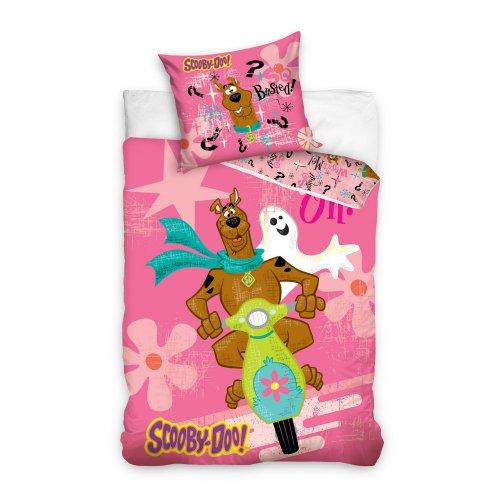 Pościel licencyjna dla dzieci 140x200 Scooby Doo SD8016-P Pościel bajkowa