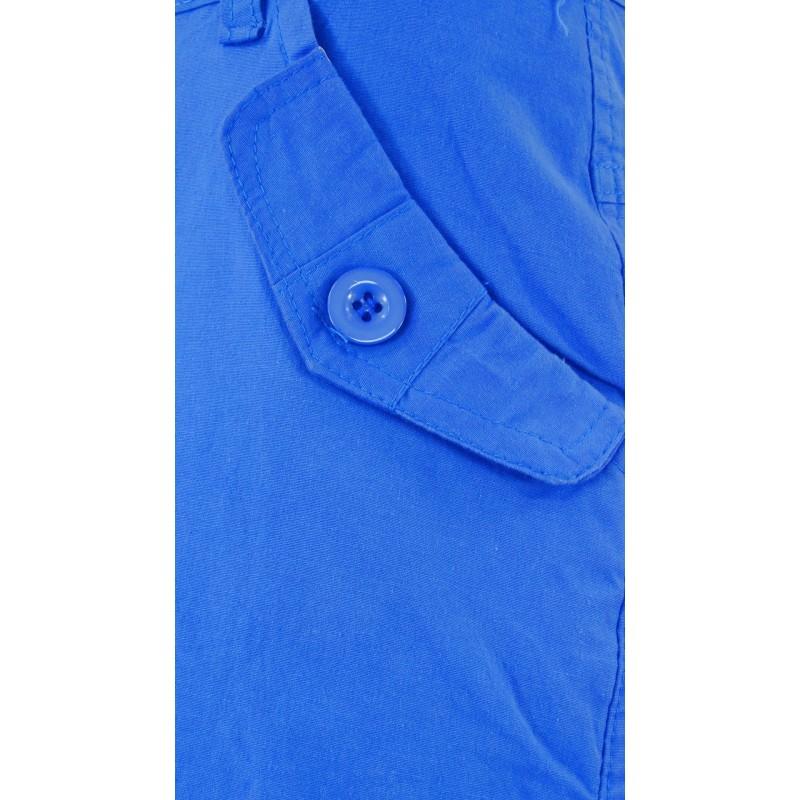 Spodenki w stylu safari (niebieskie)