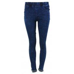 Spodnie jeansowe damskie JEGGINSY MARMURKOWE