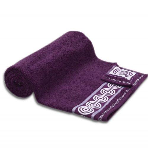 Ręcznik kąpielowy MAŁY 50x90 ŚLIWKOWY łazienkowy frotte