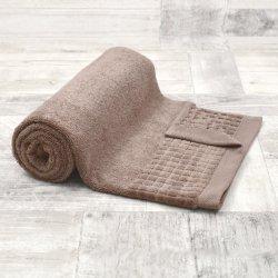 Ręcznik bawełniany DUŻY 70x140 CYNAMONOWY kąpielowy łazienkowy frotte