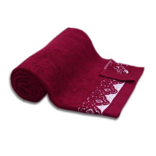 Ręcznik łazienkowy MAŁY 50x90 BURGUND