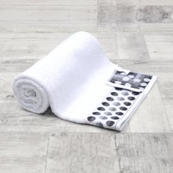 Ręcznik frotte DUŻY 70x140 BIAŁY łazienkowy kapielowy bawełniany