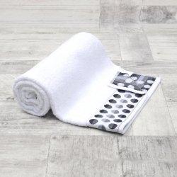 Ręcznik frotte MAŁY 50x90 BIAŁY łazienkowy kąpielowy bawełniany