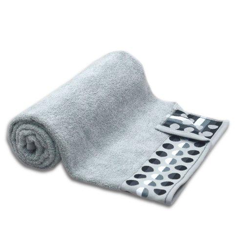 Ręcznik frotte DUŻY 70x140 JASNY GRAFIT