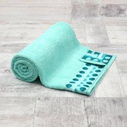 Ręcznik frotte DUŻY 70x140 MIĘTOWY łazienkowy kąpielowy bawełniany