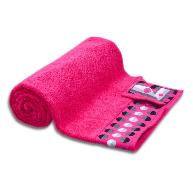 Ręcznik frotte MAŁY 50x90 FUKSJA łazienkowy kąpielowy bawełniany