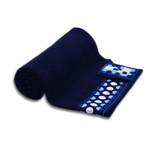 Ręcznik frotte DUŻY 70x140 ATRAMENTOWY bawełniany kąpielowy łazienkowy