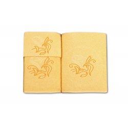 Komplet ręczników na prezent WZ. 2 ręczniki na prezent