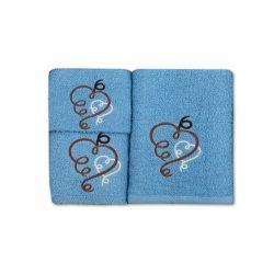 Komplet ręczników na prezent WZ. 3 ręczniki na prezent