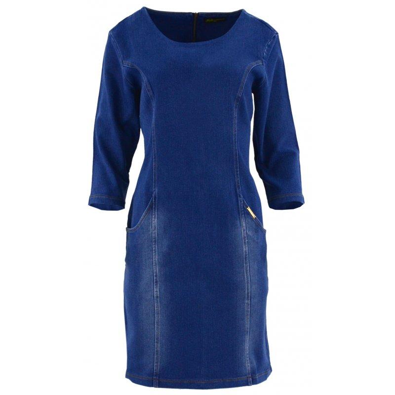 2f9cf1e4b7 Sukienka jeansowa DUŻY ROZMIAR z kieszeniami
