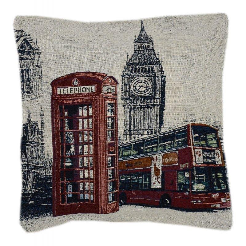 Poszewka na poduszkę ozdobna 45x45 WZ. 3 Londyn
