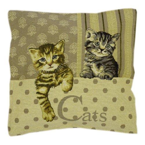 Poszewka na poduszkę ozdobna 45x45 WZ. 10 Kotki
