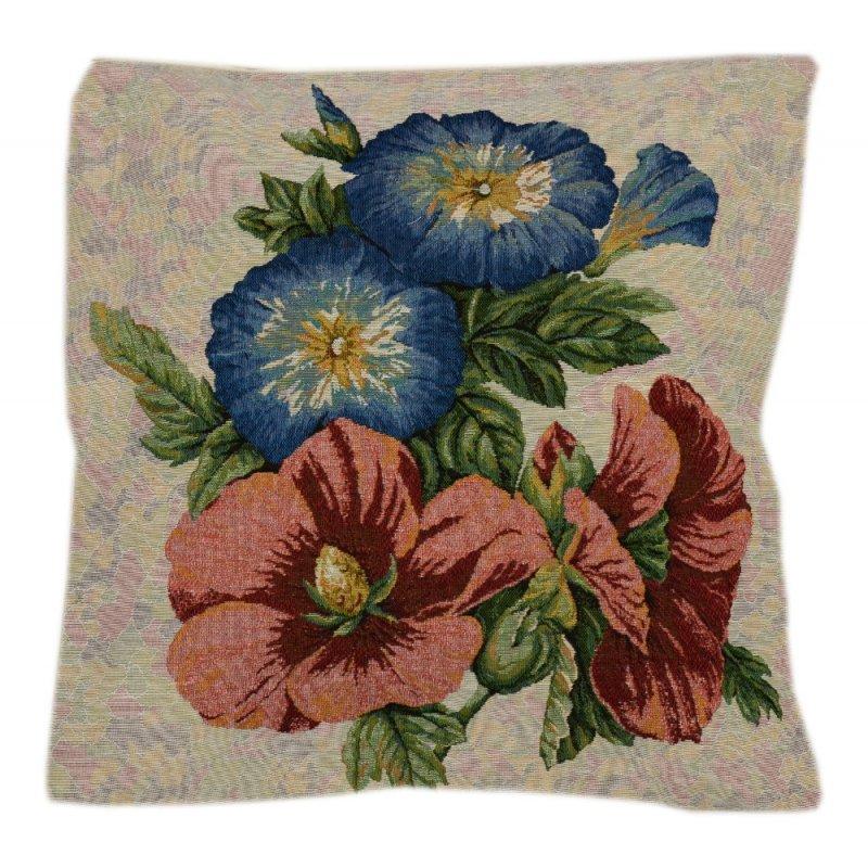 Poszewka na poduszkę ozdobna 45x45 WZ. 11 Kwiaty