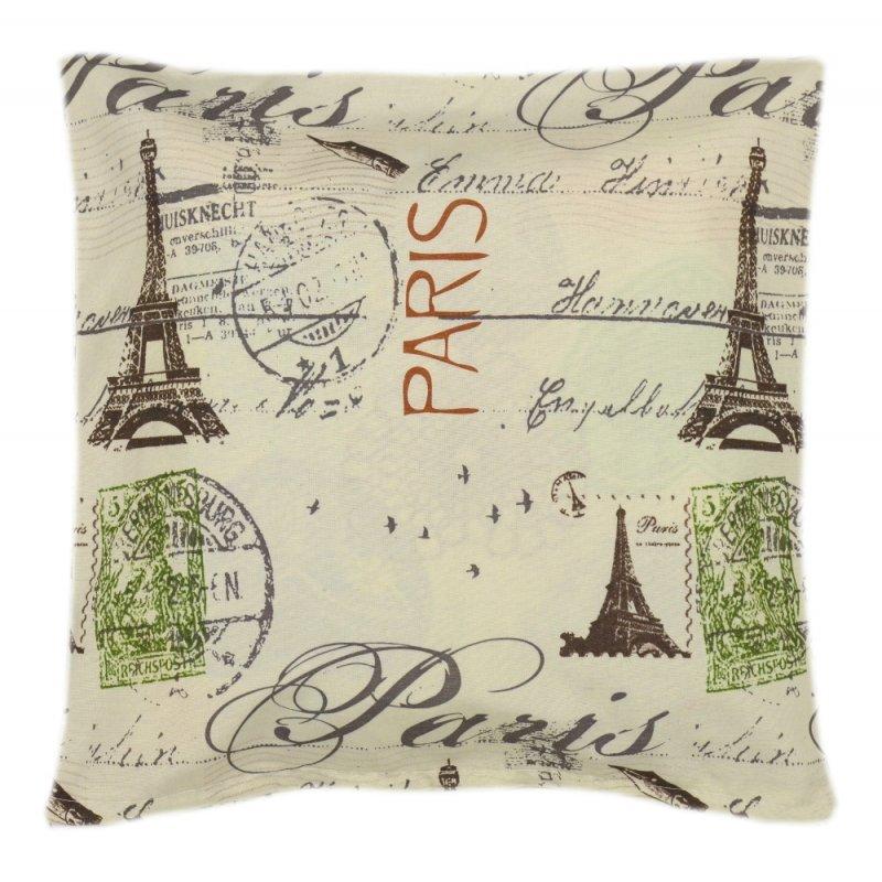 Poszewka na poduszkę ozdobna 45x45 WZ. 14 Paryż