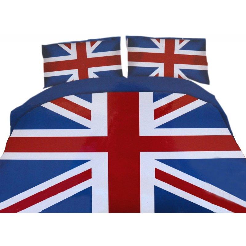Pościel młodzieżowa 160x200 WZ. 9 Anglia Flaga Anglii