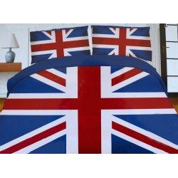 Pościel młodzieżowa 140x200 WZ. 5 Anglia Flaga Anglii 3D