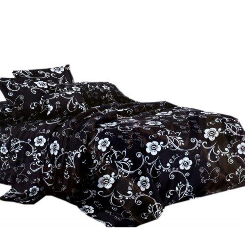 Pościel czarno biała 160X200 WZ. 4