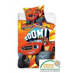 Pościel licencyjna dla dzieci 160x200 Blaze i Mega Maszyny BMM161010