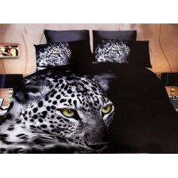 Pościel 3D ZWIERZĘTA 160x200 WZ. 2 Szary gepard