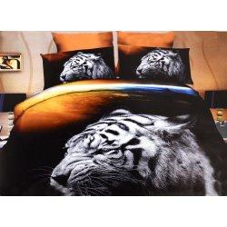 Pościel 3D ZWIERZĘTA 160x200 WZ. 5 Tygrys polarny