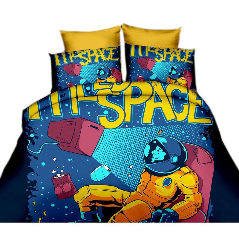 Pościel 3D dla dzieci 160x200 WZ. 10 Kosmonauta