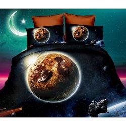 Pościel 3D KOSMOS 160x200 WZ. 5 Planeta Merkury