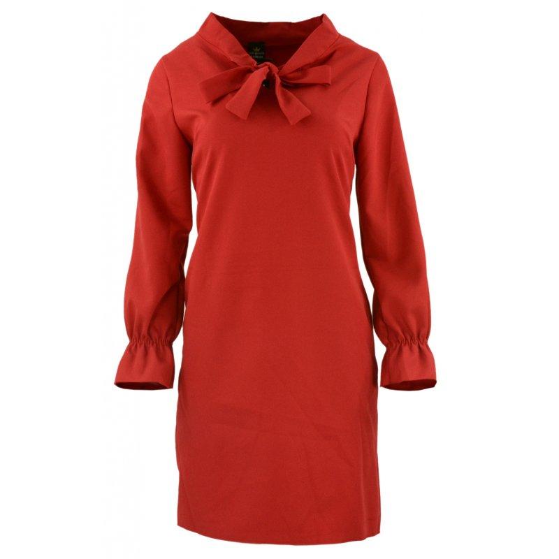 Sukienka w kształcie litery A (czerwona)