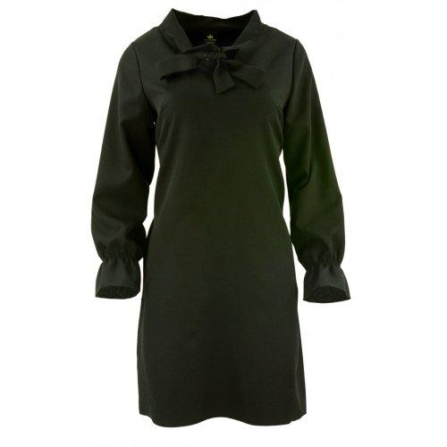 Sukienka w kształcie litery A (czarna)