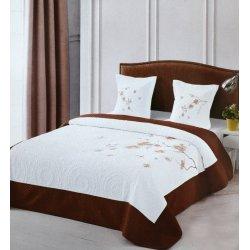 Narzuta Elway Na Łóżko na sofę do sypialni 220x240 ELWAY Pikowana Haft 907-04