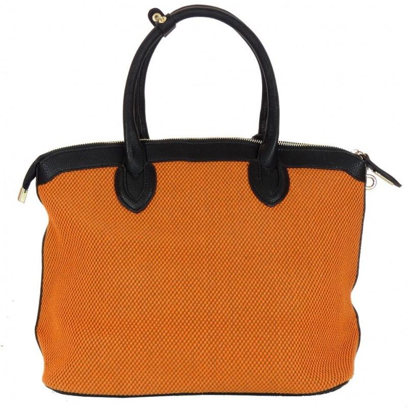 Torebka tekstylna (pomarańczowa)