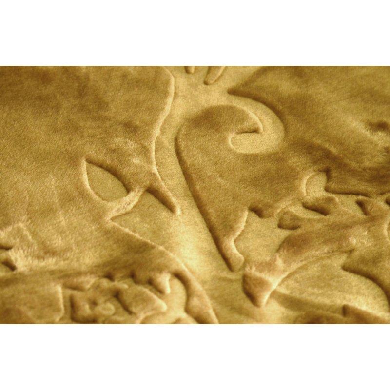 Koc Akrylowy Tłoczony Narzuta ELWAY 200x240 Kolor 19 Koc Akrylowy Tłoczony
