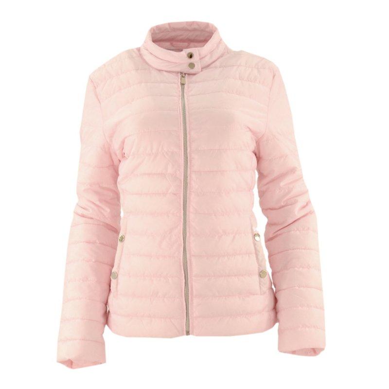Cienka kurtka damska (różowa)