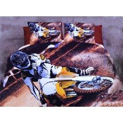 Pościel 3D MOTORY 160x200 WZ. 1