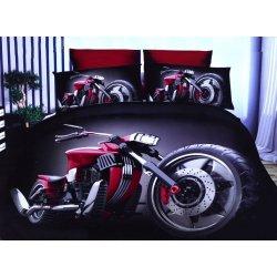 Pościel 3D MOTORY 160x200 WZ. 3