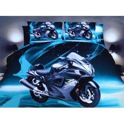 Pościel 3D MOTORY 160x200 WZ. 4