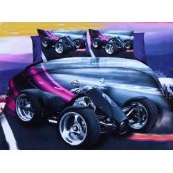 Pościel 3D MOTORY 160x200 WZ. 6